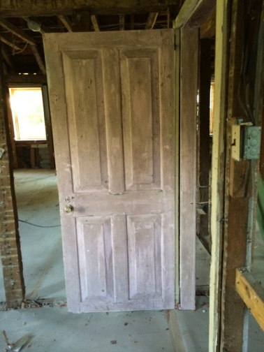 One of several 18th century doors to survive.